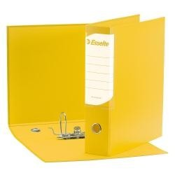 Registratori Esselte BUSINESS G95 dorso 8cm Giallo Conf. 6 PZ