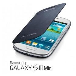 FLIP COVER GALAXY S III MINI Blu